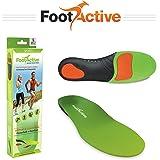 FootActive SPORTS semelles - Semelles orthopédiques avancées à haute intensité pour les sports, l'athlétisme, les loisirs, le travail et le jeu. Maximum de confort et d'Absorption.