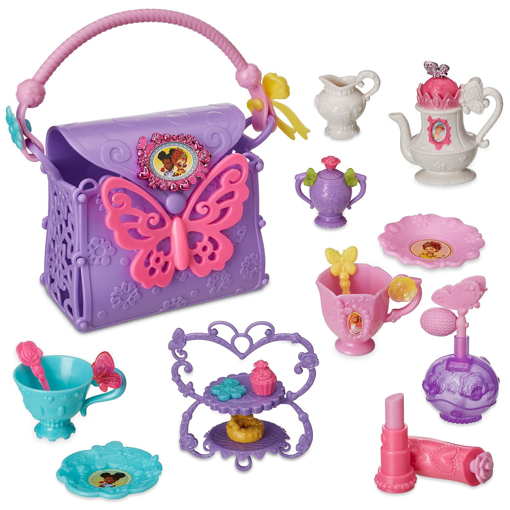 Disney Fancy Nancy Primp and Party Tea Set for Kids