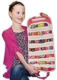 Hatchimals Egg CollEGGtibles Compatible EASYVIEW Toy Storage Organizer Case (Pink)