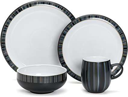 Pottery & China China & Dinnerware Denby Stripes Curve Mug Grade Products According To Quality