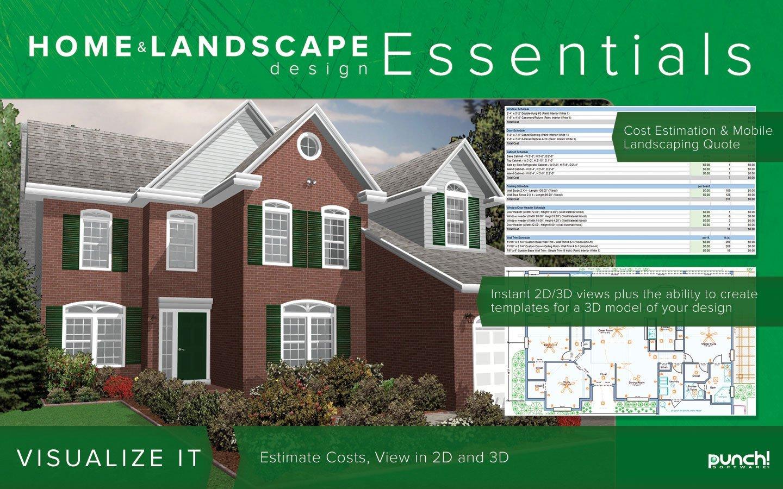 Punch Home Landscape Design Essentials V18 Download Hardware Tools Punches