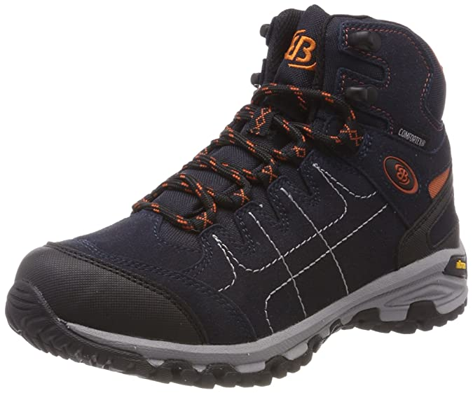 Bruetting Mount Shasta High, Chaussures de Randonnée Hautes Mixte Adulte, Noir (Anthrazit/Gruen Anthrazit/Gruen), 37 EU