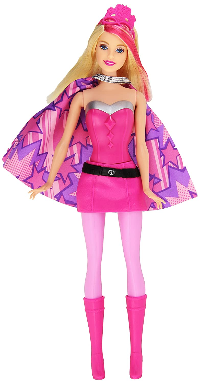 Beautiful Barbie In Princess Power Super Hero Barbie Doll: Amazon.co.uk: Toys U0026 Games