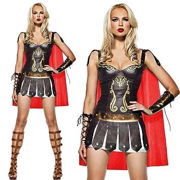 5360e176c SEXY LADIES WARRIOR GREEK ROMAN GODDESS GLADIATOR WOMENS SPARTAN FANCY  DRESS COSTUME (Women  6
