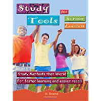 Study Tools for Senior learners: A Study Skills Program for Junior High & High School Learners (English Edition)