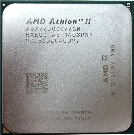 Amazon Com Amd Athlon Ii X2 220 2 8ghz 2x512kb Socket Am3 Dual Core Cpu Computers Accessories