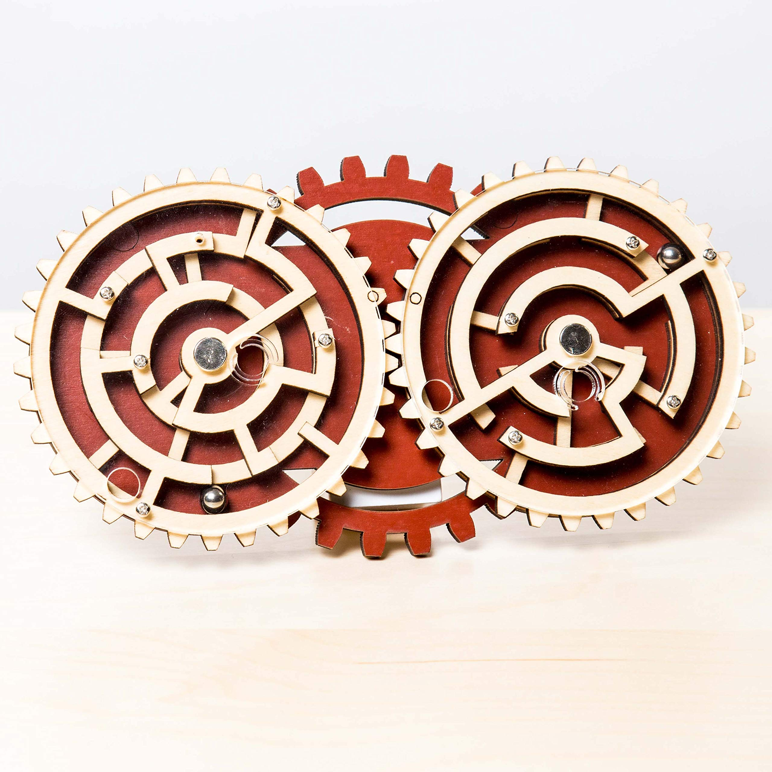 Project Genius Jc005 Brain Teaser Puzzle, Wooden by Project Genius
