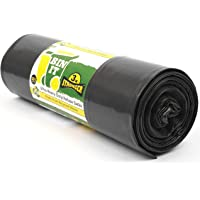 BIN IT 120 Litre XL Refuse Sacks Bin Bags- Ultra Heavy Duty- 80kg Lift Tested- 1 Roll of 10's- Super Strong- 60 μm – Perfect for Household-Office-Garden-Commercial- DIY- Caterers-Builders