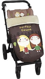 Babyline 002000526 - Saco para silla de paseo, diseño búho, color ...