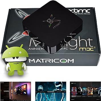 G-Box Midnight MX2 Android 4.2 Jelly Bean Dual Core XBMC Streaming Mini HTPC TV Box Player: Amazon.es: Electrónica