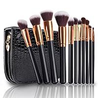 Pinceaux Maquillage, Vander Life Cosmétique Professionnel 11pcs Cosmétique Brush Beauté Maquillages Brosse Makeup Brushes Cosmétique Fondation avec Sac