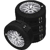 Set de fundas para neumáticos, 4 unidades, color
