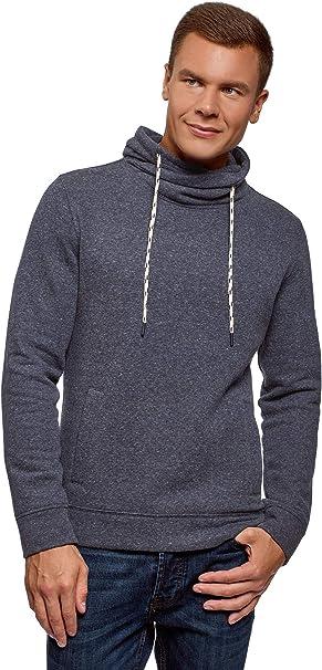 TALLA XXL. oodji Ultra Hombre Suéter Básico con Cuello de Chal