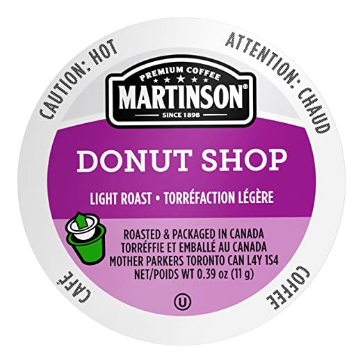 Martinson Coffee, Donut Shop Blend, 48 Single Serve RealCups