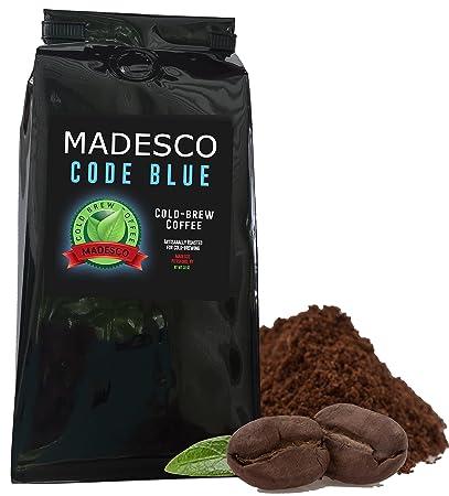 Madesco Code Blue Cold-brew Artisan Ground Coffee