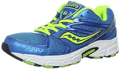 Saucony Cohesion 6 Scarpa da Running Donna, Blu/Verde, 37 ...