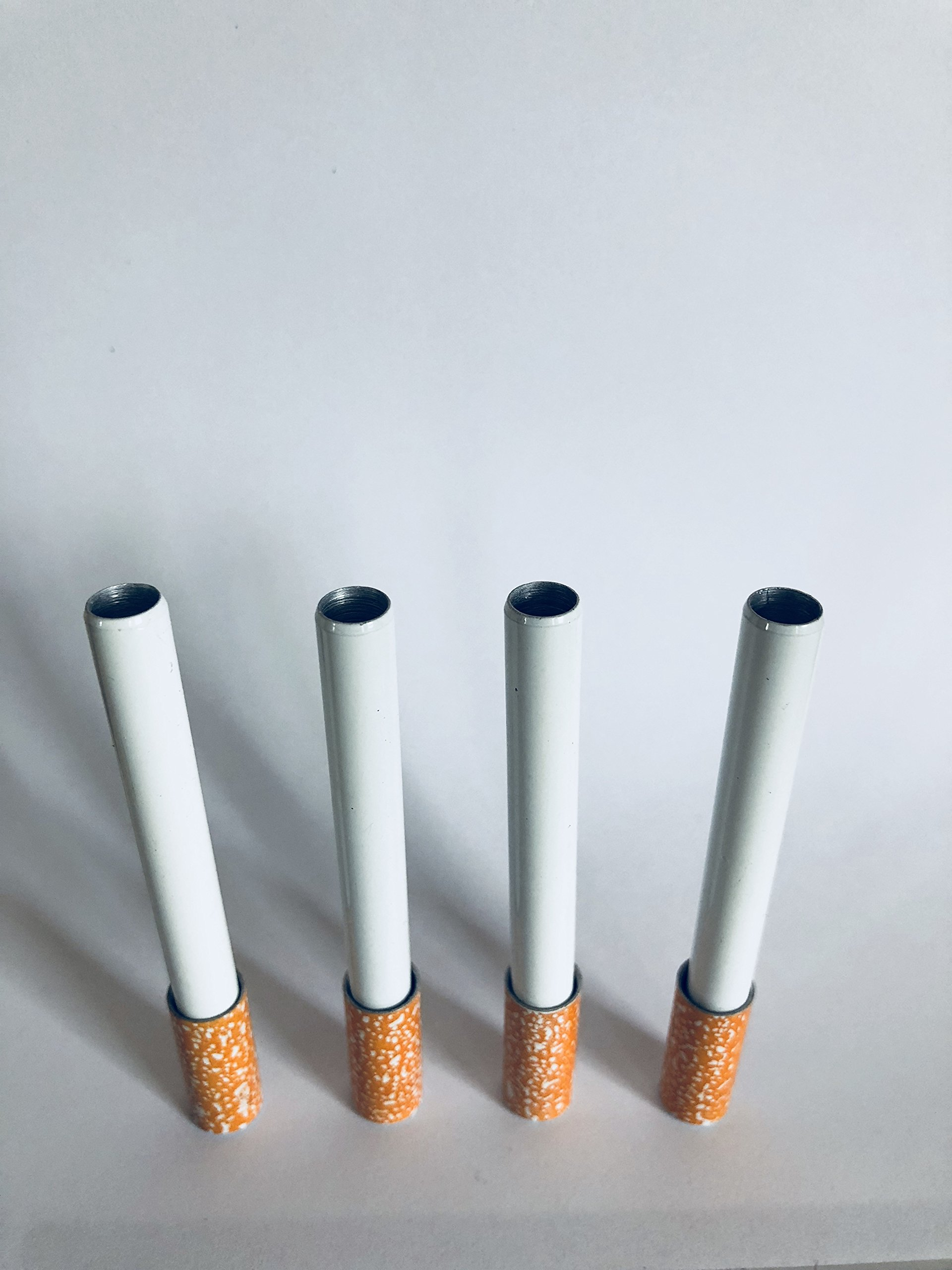 by Quality US - New Metal Cigarette Holder with Spring, (Pack of 4 pcs), Metal Bat, Free Shipping !
