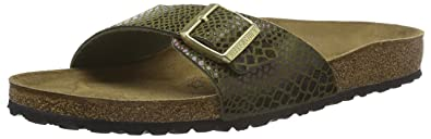 quite nice 0272f 283d6 Amazon.com | Birkenstock Madrid Narrow Fit - Shiny Snake ...