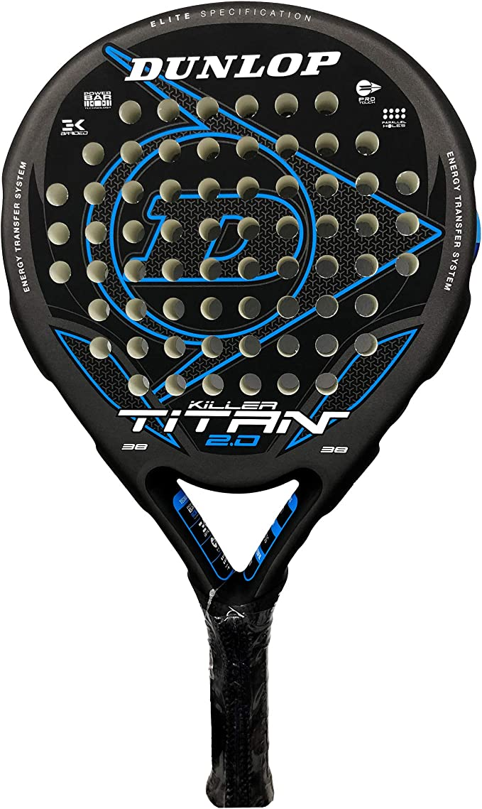 Dunlop Pala de Padel Titan 2.0 Orange: Amazon.es: Deportes y aire ...