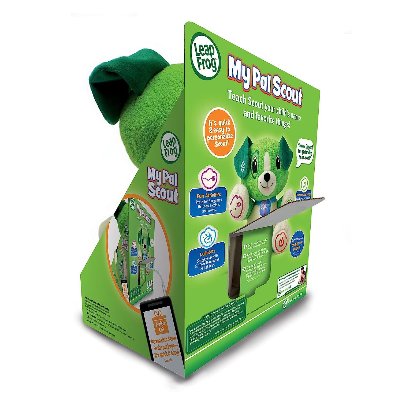 LeapFrog My PAL Scout Juguetes de Peluche Verde