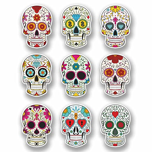 Skull Decals Amazon Co Uk