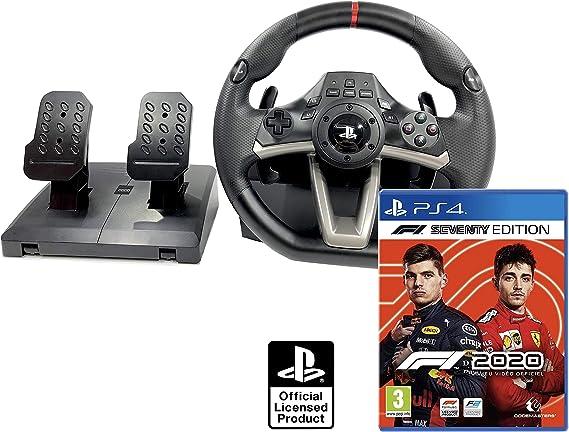 Volante PS4 Licencia Original Playstation 4 RWA Apex + Formula 1 2020 / F1 2020 PS4: Amazon.es: Videojuegos