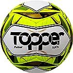 Bola Topper Slick Costurada Futsal Amarela