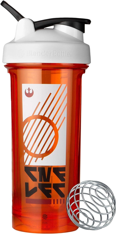 BlenderBottle C04350 Star Wars Pro Series 28-Ounce Shaker Bottle, Rebel Badge