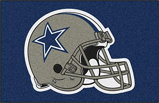 Dallas Mascot Sport Decal 5 X 5 Cowboys Football