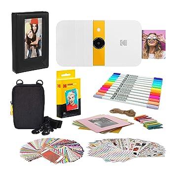KODAK Smile Impresora Digital instantánea (Blanco/Amarillo ...