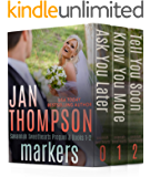 Markers (Savannah Sweethearts Prequel & Books 1-2): Inspirational Christian Beach Romance (Savannah Sweethearts Boxed Set Collection Book 1)