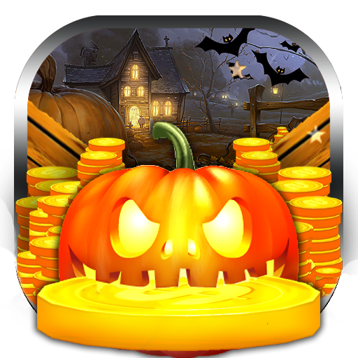 Halloween Party Coin Dozer -
