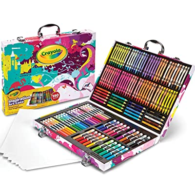 Crayola Inspiration Art Case Coloring Set, Gift for Kids Age 5+: Toys & Games
