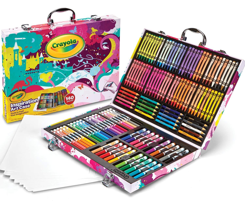 Crayola Set De Arte (lapices, Crayones, Fibras) 140 Unidades