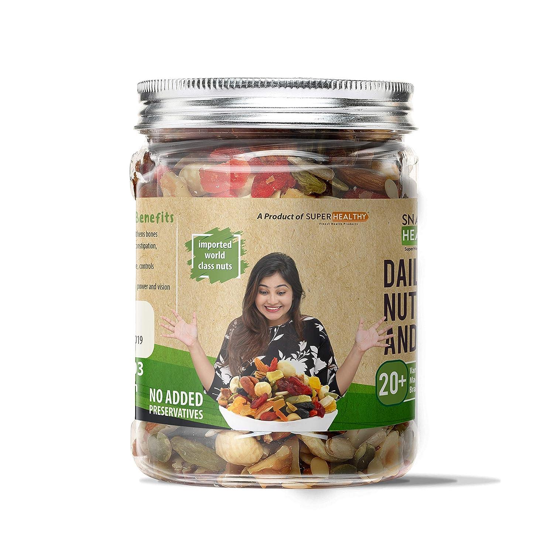 healthy mixed nuts