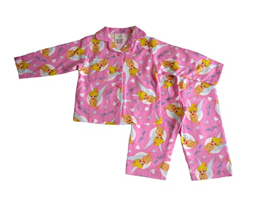 22efa5fe3 Disney GIRLS PYJAMAS TINKERBELL FLANNEL 1-4 YEARS OLD (2-3 YEARS ...