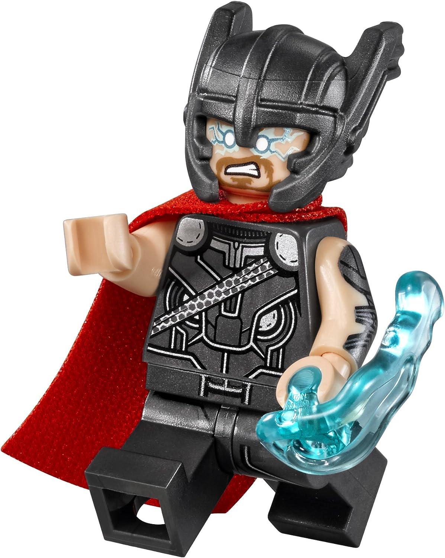 NEW USA Lego Thor Lego Mini Figure w Hammer and Mighty Helmet Marvel