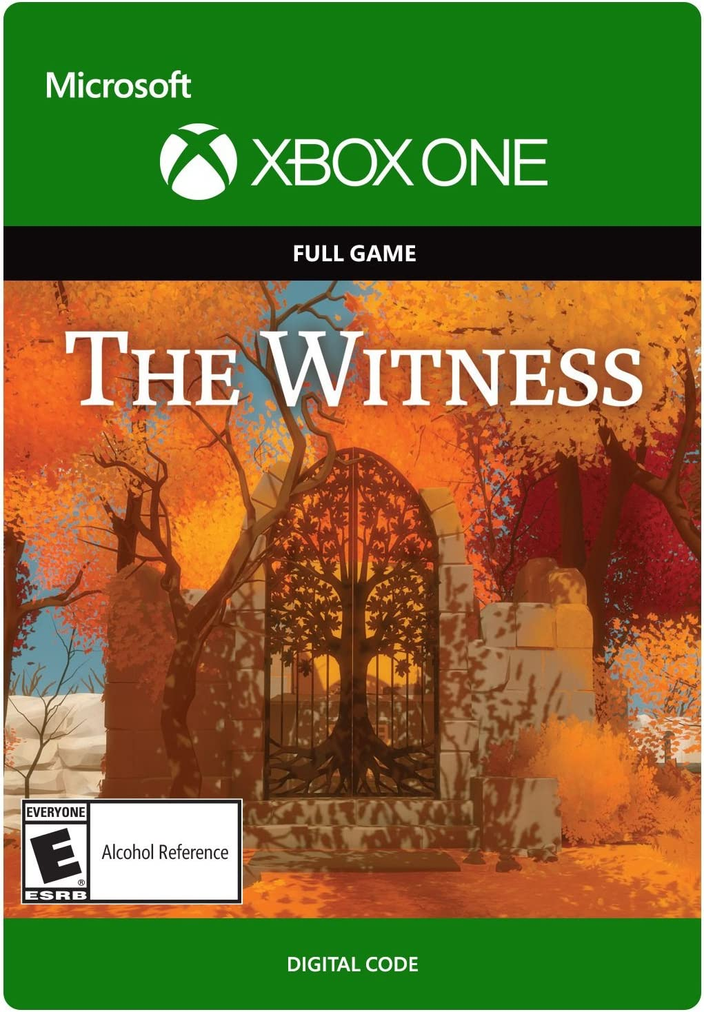 Amazon com: The Witness - Xbox One Digital Code: Video Games