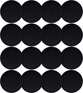 Patelai 16 Pieces Compost Bin Filters Round Kitchen Compost Bucket Filters Round Refill Replacement Filters for Home Kitchen Use