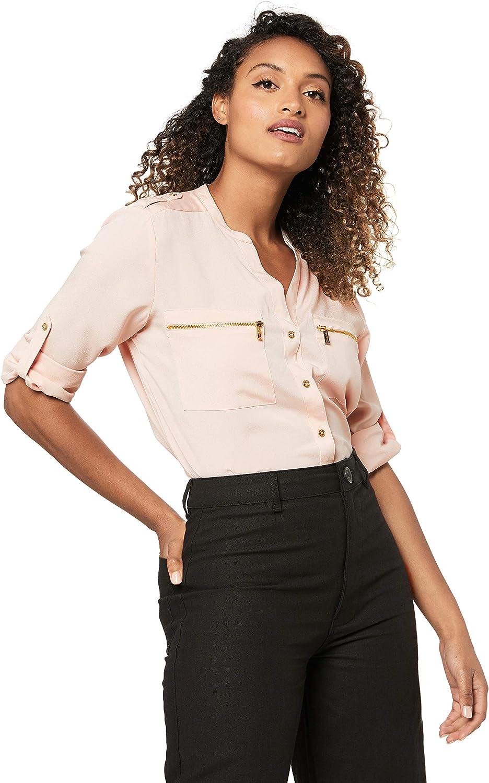 Calvin Klein Women's Modern Essential Button Front Blouse