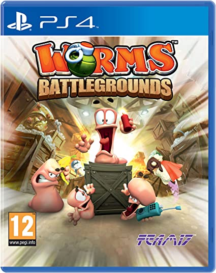 Worms Battlegrounds Ps4 Amazon Co Uk Pc Video Games