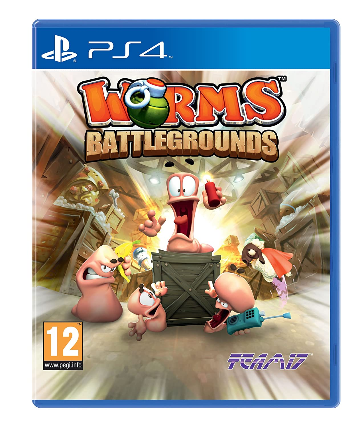 Amazon Com Worms Battlegrounds Sony Playstation 4 Ps4 Game Uk Video Games