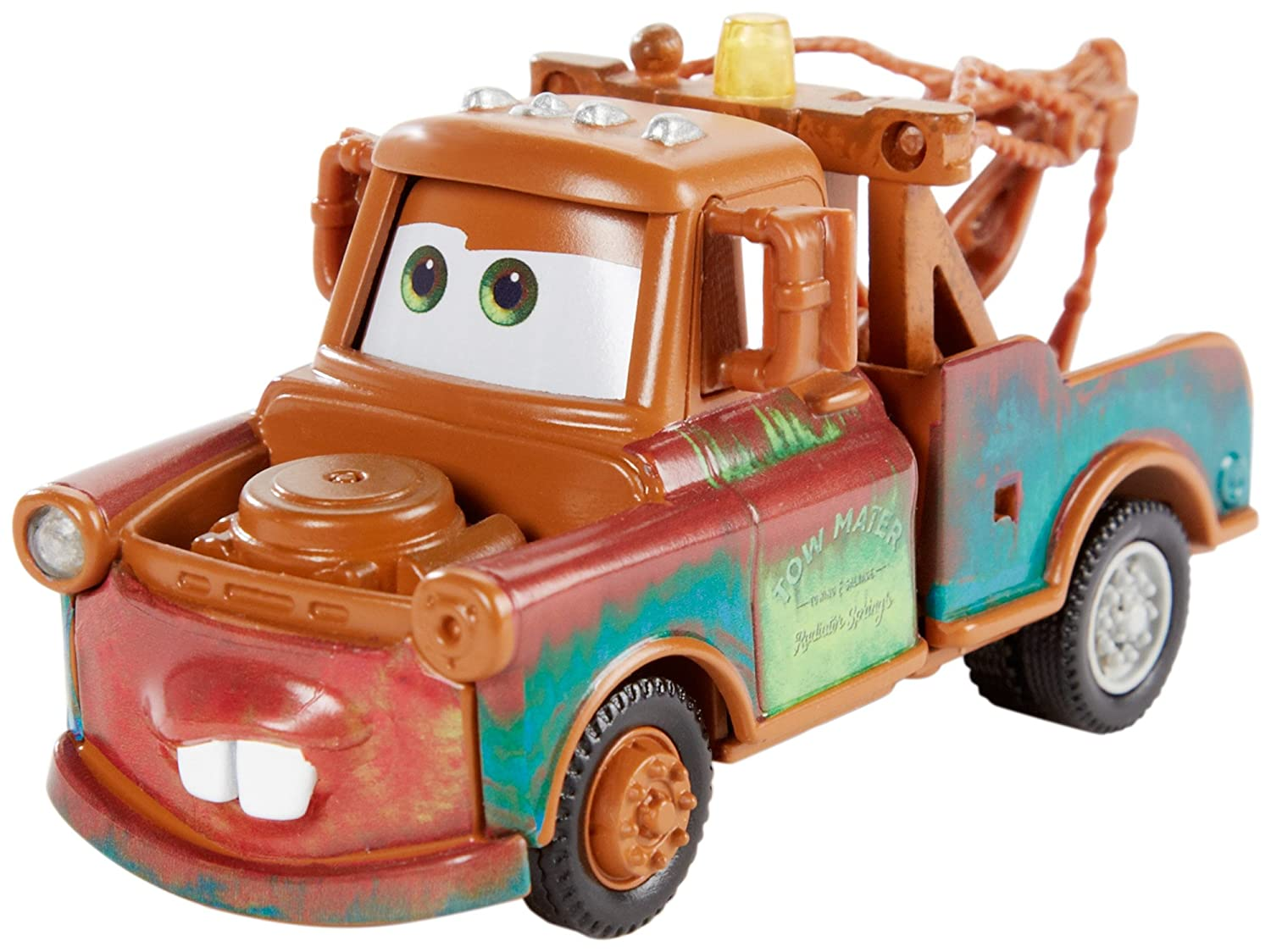 Amazon.com: Disney/Pixar Cars Mater\'s Towing and Salvage Playset and ...