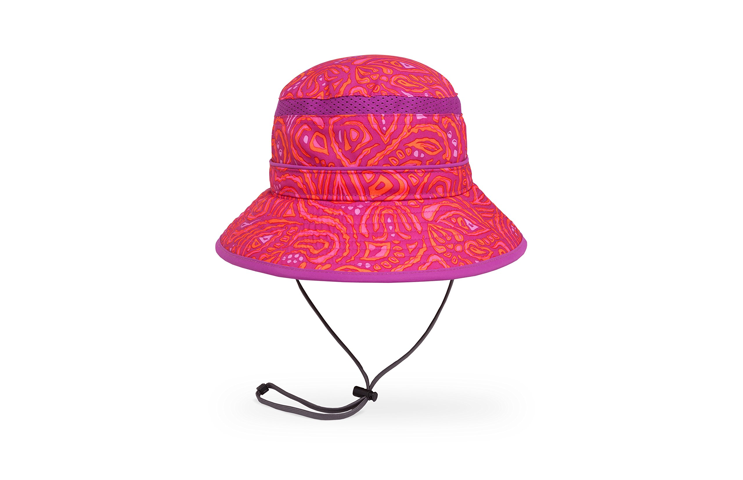 Sunday Afternoons Kids Fun Bucket Hat, Pink Fossil, Small