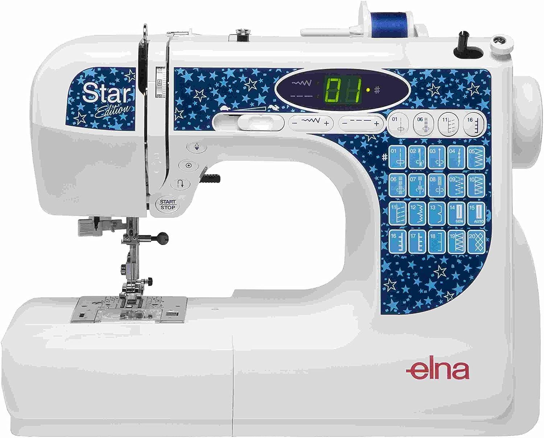 Máquina de coser ELNA Star Edition: Amazon.es: Hogar