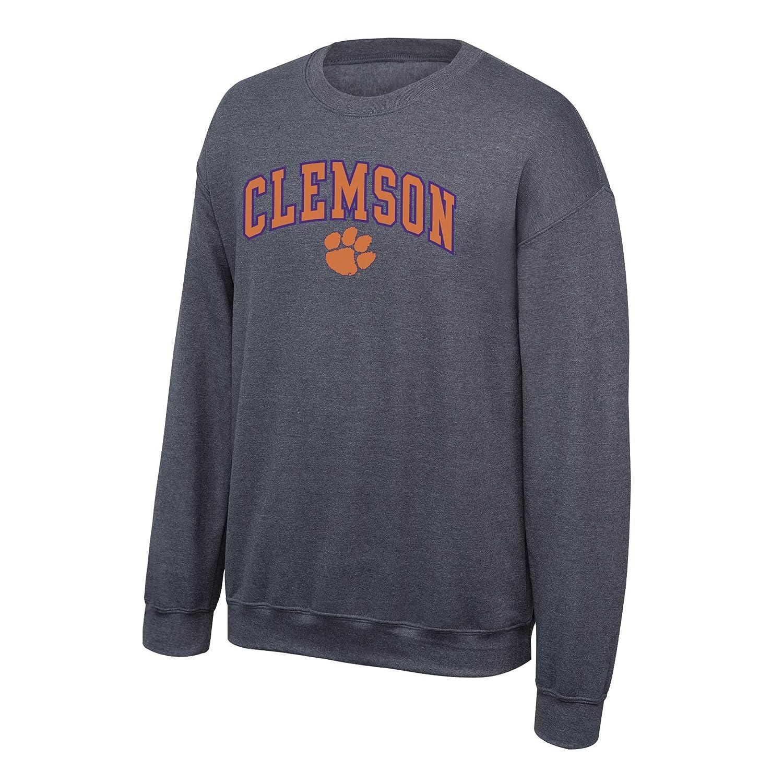 Elite Fan Shop NCAA Crewneck Sweatshirt Dark Heather Arch