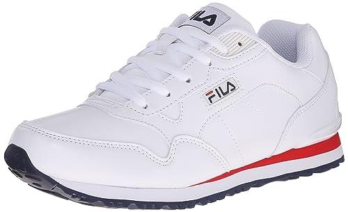 Fila de la Mujer Cruz de Zapatillas de Atletismo: Amazon.es: Zapatos y complementos