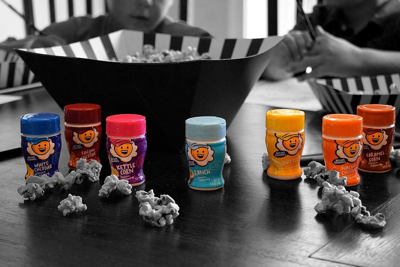 Kernel Season's Popcorn Seasoning Mini Jars Variety Pack, 0.9 Ounce (Pack of 8) : Grocery & Gourmet Food