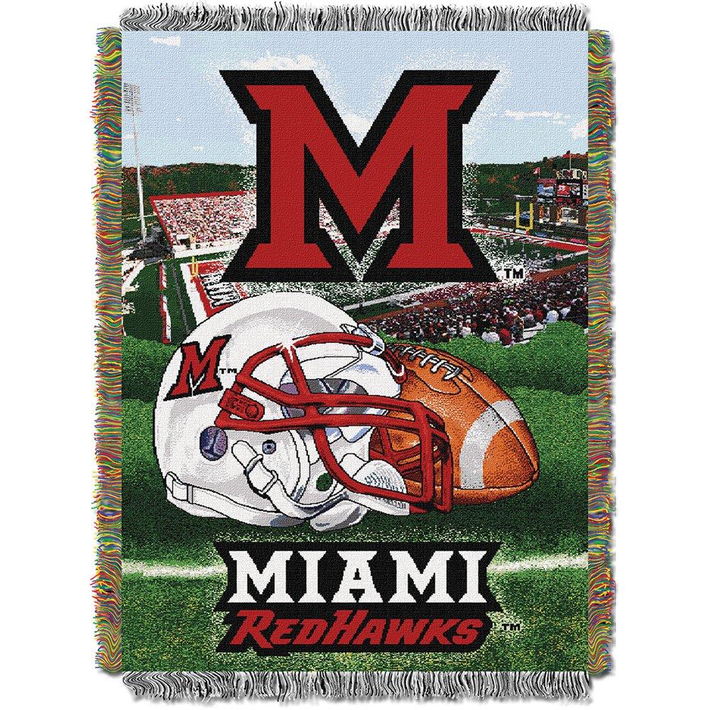 北西の会社Miami Redhawks HFA Blanket B07BYTN886