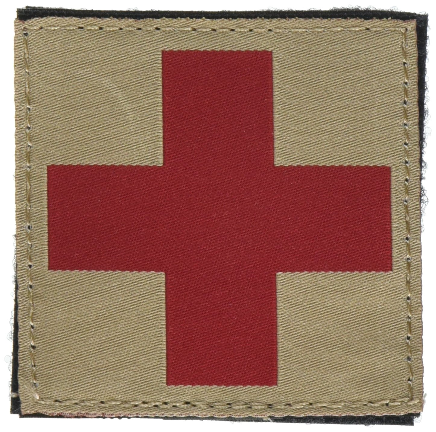 BLACKHAWK! Red Cross ID Patch - Coyote Tan